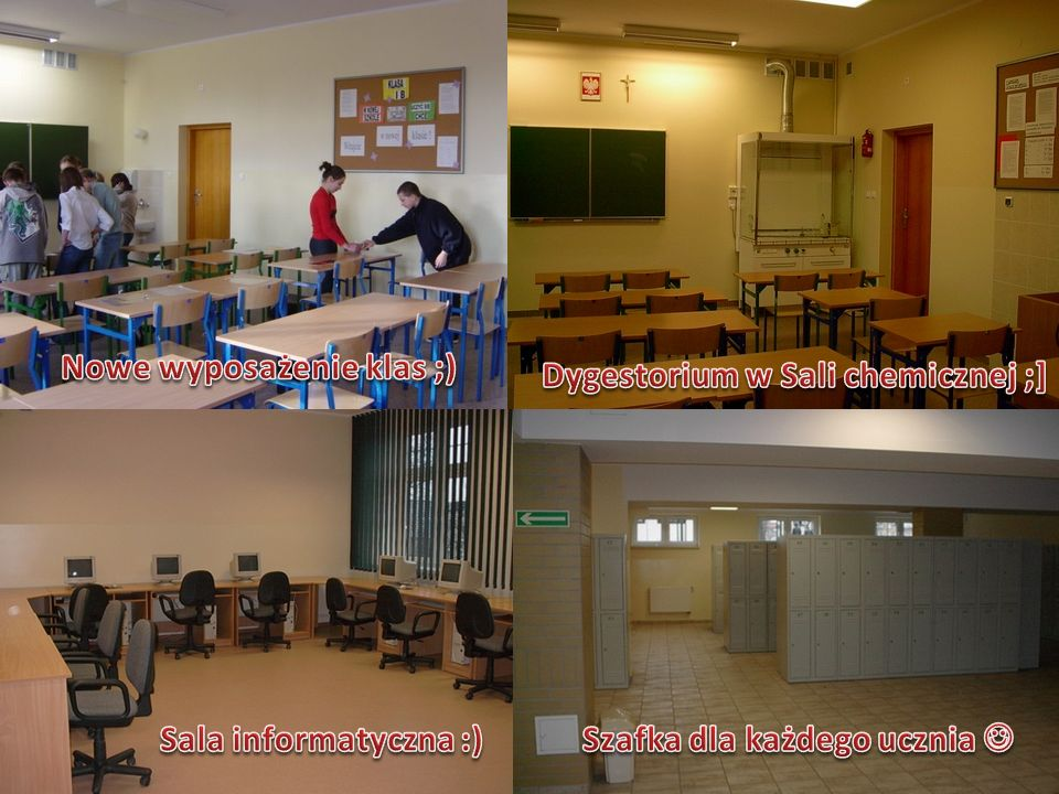 Nowe wyposażenie klas ;) Dygestorium w Sali chemicznej ;]